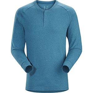 Sirrus LS Henley, men's, discontinued Fall 2018 colors