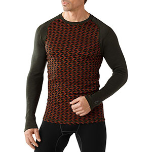 Midweight 250 Pattern Crew, men's