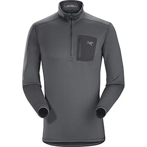 Rho AR Zip Neck, men's, discontinued Fall 2018 colors