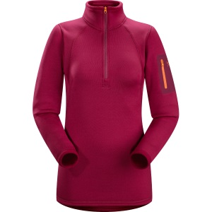 Rho AR Zip Neck, women's, discontinued Fall 2017 colors