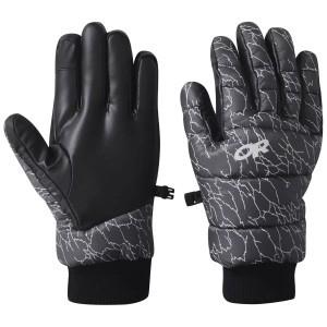 Transcendent Down Gloves, Printed