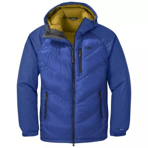 Alpine Down Hooded Jacket, men's