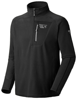Microstretch Zip T, men's