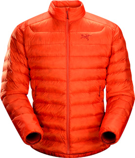 Cerium LT Jacket, men's, discontinued Spring 2014 colors